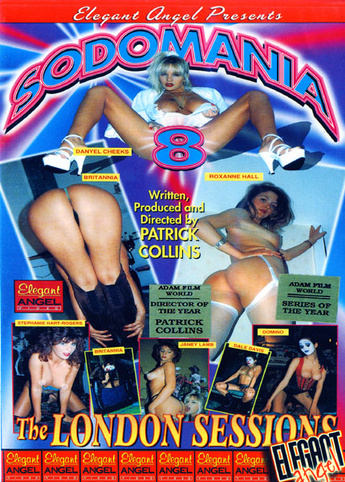Sodomania 8 from Elegant Angel front cover