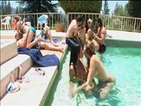 Coed Pool Party Scene 5