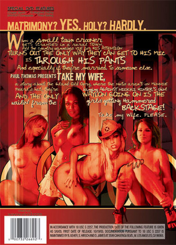 Take My Wife from Vivid back cover