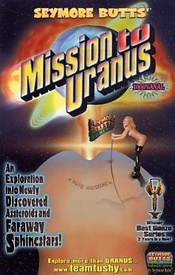 Mission To Uranus from Seymore Butts front cover