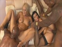ANGELITA: Milf Orgy Interracial