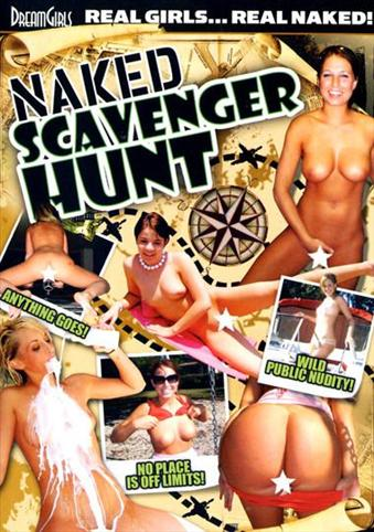 Naked Scavenger Hunt from DreamGirls front cover