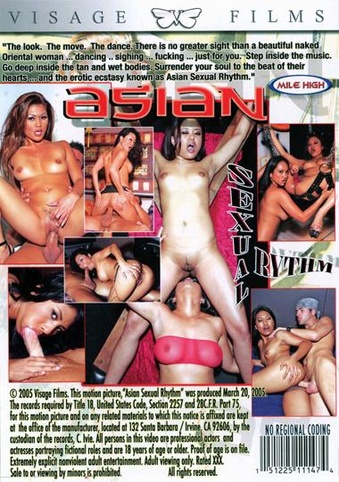 Asian Sexual Rhythms from Visage back cover