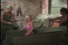 Double Penetration Virgins 8 DP Commandos Scene 3