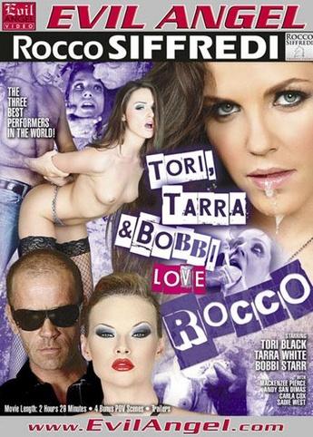 Tori Tarra And Bobbi Love Rocco from Evil Angel: Rocco Siffredi front cover