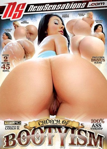 Church Of Bootyism from New Sensations front cover