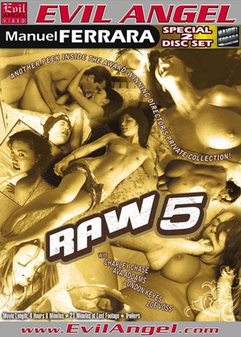 Raw 5 from Evil Angel: Manuel Ferrara front cover
