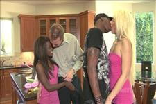 Interracial Swingers Scene 1