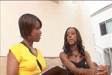 Black Lesbian Strap Attack Scene 2