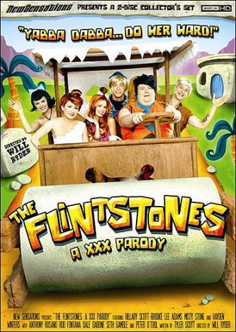 The Flintstones A XXX Parody from New Sensations front cover