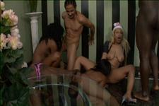 Black Amateur Swinger's Party 3 Scene 2