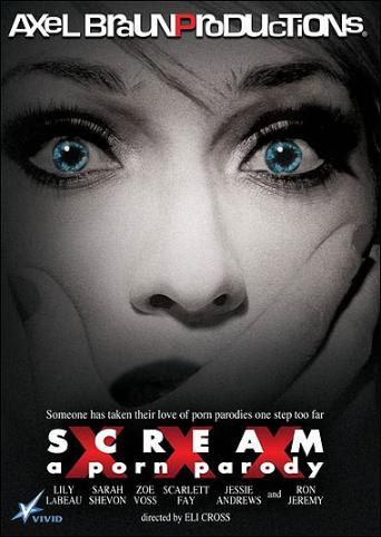 Scream XXX A Porn Parody from Vivid front cover