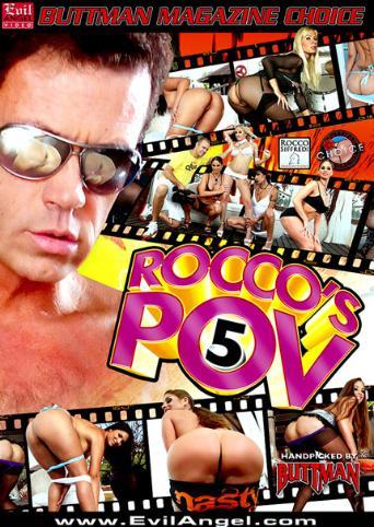Rocco's POV 5 from Evil Angel: Rocco Siffredi front cover