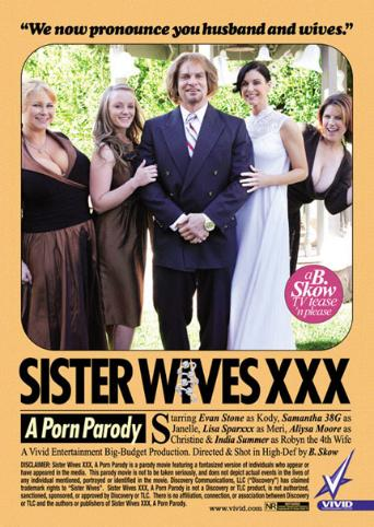 Sister Wives XXX A Porn Parody from Vivid front cover