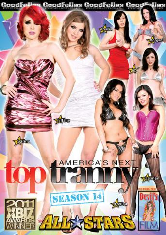 Americas Next Top Tranny Season 14 All Stars