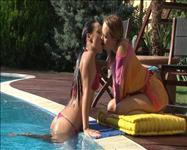 Hot Wet Lesbians Scene 3