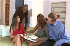 Interracial Swingers 4 Scene 2