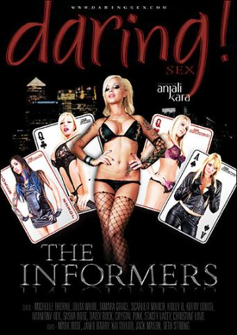 The Informers from Daring front cover