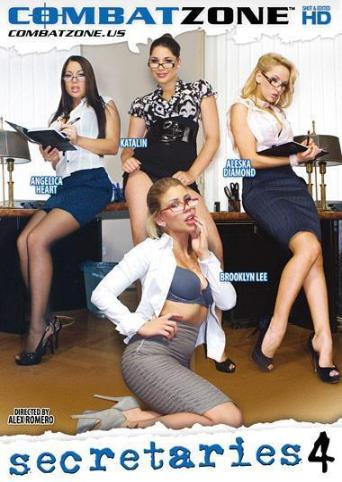 Secretaries 4 from Combat Zone front cover