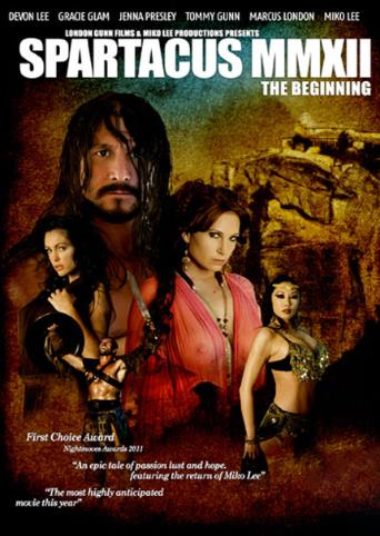 Spartacus Mmxii The Beginning from Wicked front cover