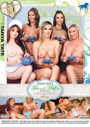 Tanya Tate's Tea And Muffin Party from Filly Films front cover
