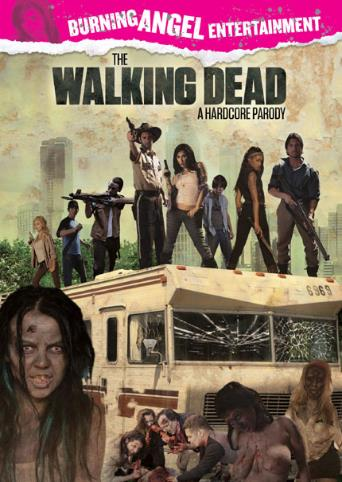 The Walking Dead A Hardcore Parody from Burning Angel front cover