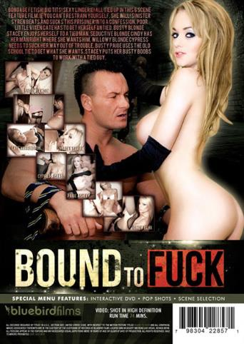 Bound To Fuck from Bluebird Films back cover