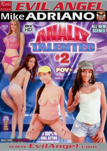 Anally Talented 2 from Evil Angel: Mike Adriano front cover