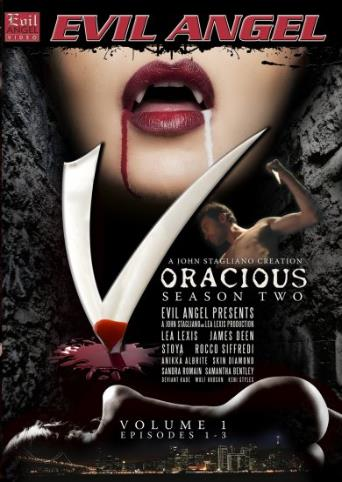 Voracious Season Two V1 from Evil Angel: Rocco Siffredi front cover