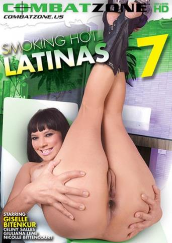 Smoking Hot Latinas 7 from Combat Zone front cover