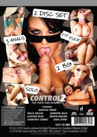Control 2 from Digital Playground back cover