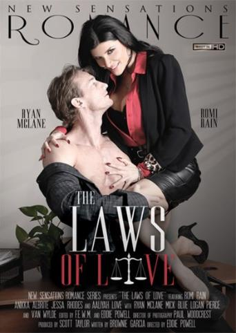 The Laws Of Love from New Sensations front cover