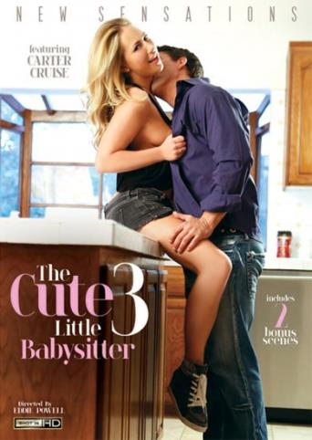 The Cute Little Babysitter 3 from New Sensations front cover