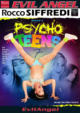 Psycho Teens 7 from Evil Angel: Rocco Siffredi front cover