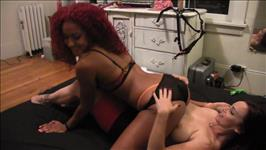 Lesbian Strap On Fantasies Roommates With Benefits