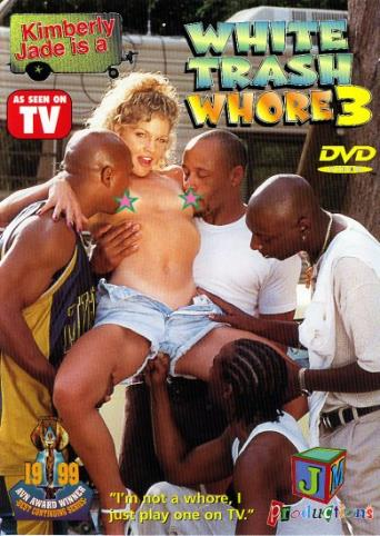White Trash Whore 3 from JM Productions front cover