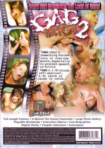Gag Factor 2 from JM Productions back cover