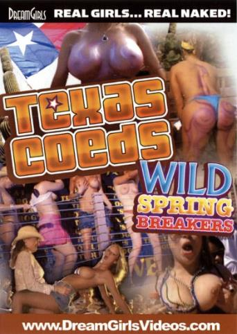 Texas Coeds Wild Spring Breakers from DreamGirls front cover