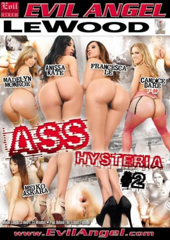 Ass Hysteria 2 from Evil Angel front cover