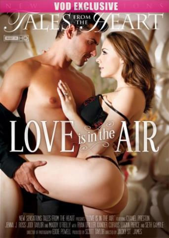 Love Is In The Air from New Sensations front cover