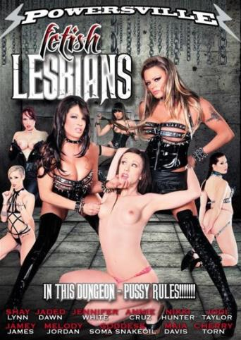 Fetish Lesbians from Powersville front cover