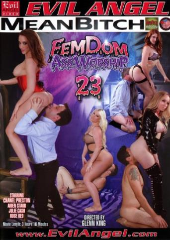 Femdom Ass Worship 23 from Evil Angel front cover
