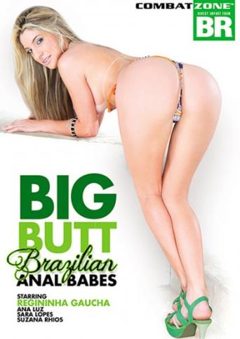 Big Butt Brazilian Anal Babes from Combat Zone front cover