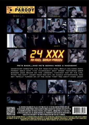24 XXX An Axel Braun Parody from Wicked back cover