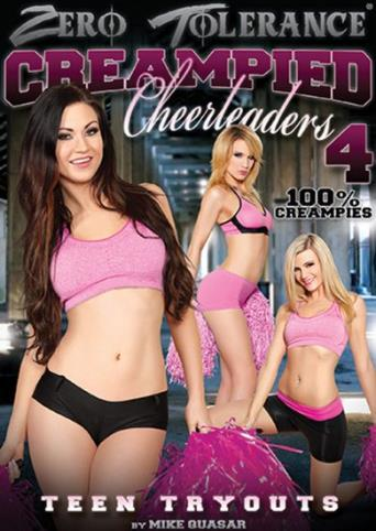 Creampied Cheerleaders 4 from Zero Tolerance front cover