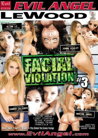 Facial Violation 3 from Evil Angel front cover