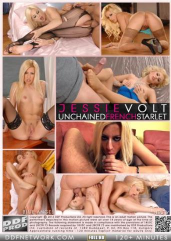 Jessie Volt Unchained French Starlet from DDF back cover