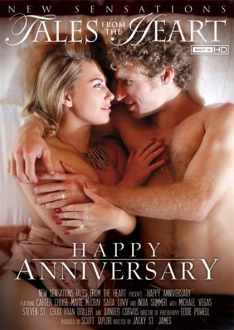 Happy Anniversary from New Sensations front cover
