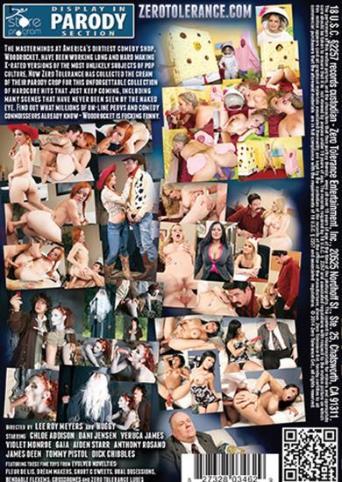 Pornocopia from Zero Tolerance back cover
