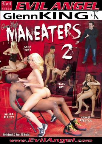 Maneaters 2 from Evil Angel front cover